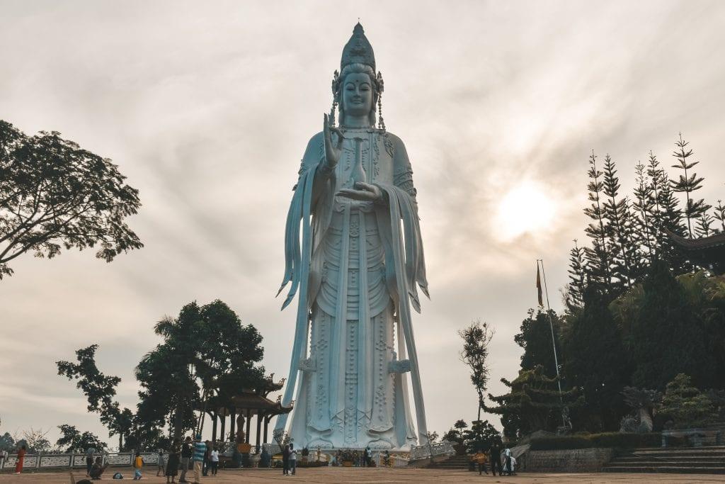 The Lady Buddha.