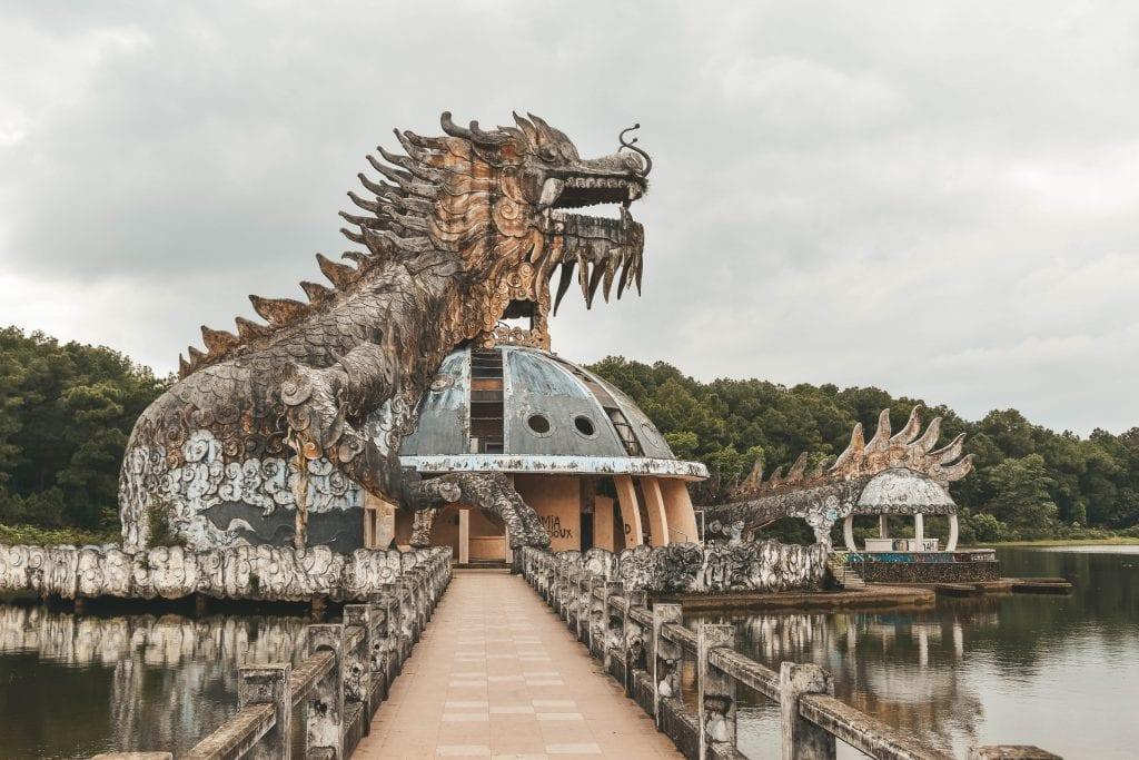 Draak Hue waterpark.