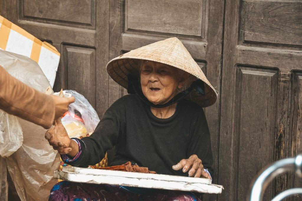 Vietnam reisroute.