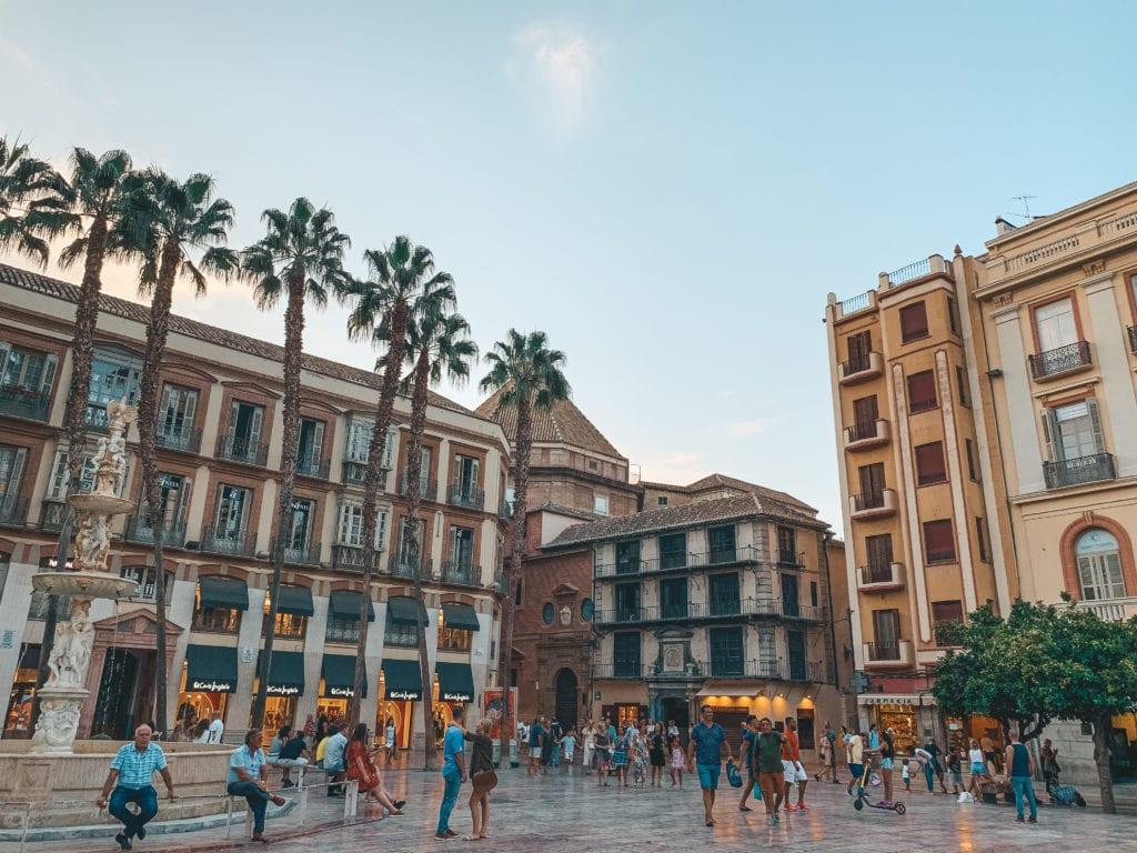 Citytrip Malaga.