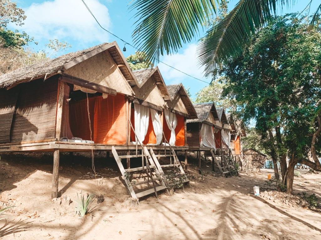 Overnachten expeditie Filipijnen.