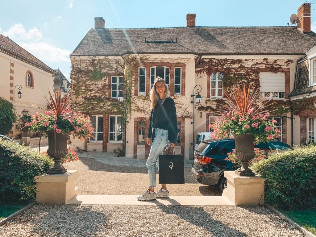 Champagnehuis bezoeken in  Frankrijk.