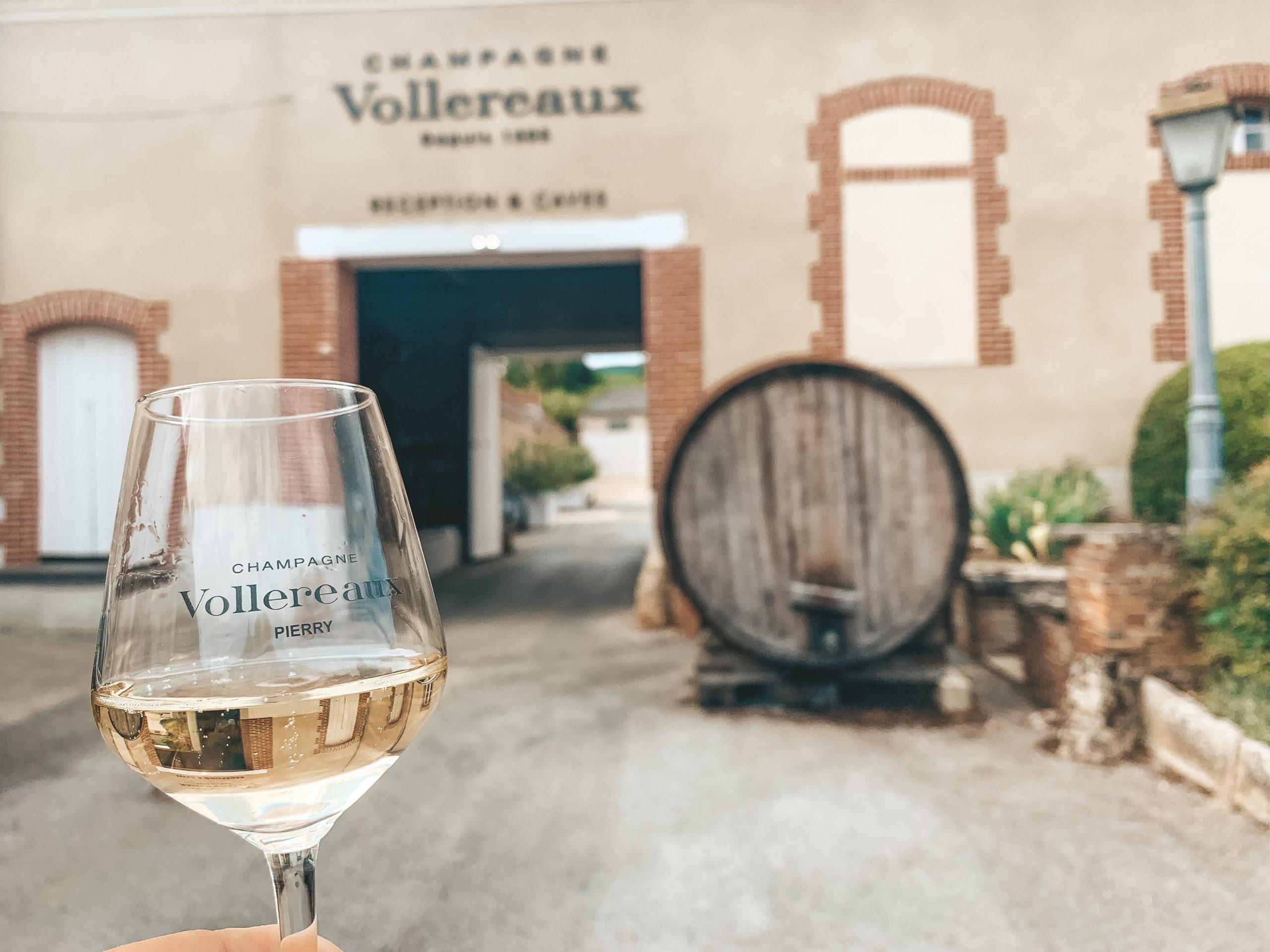 Vollereaux proeverij Champagne.