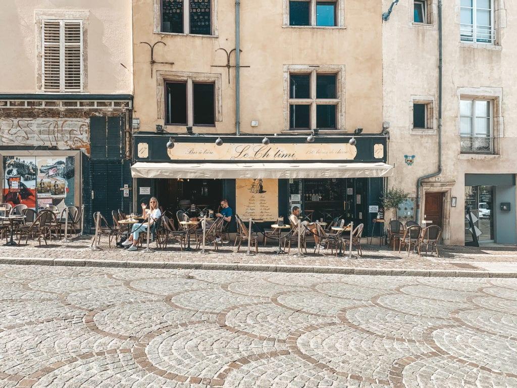 Le Ch'timi: leukste café van Nancy.