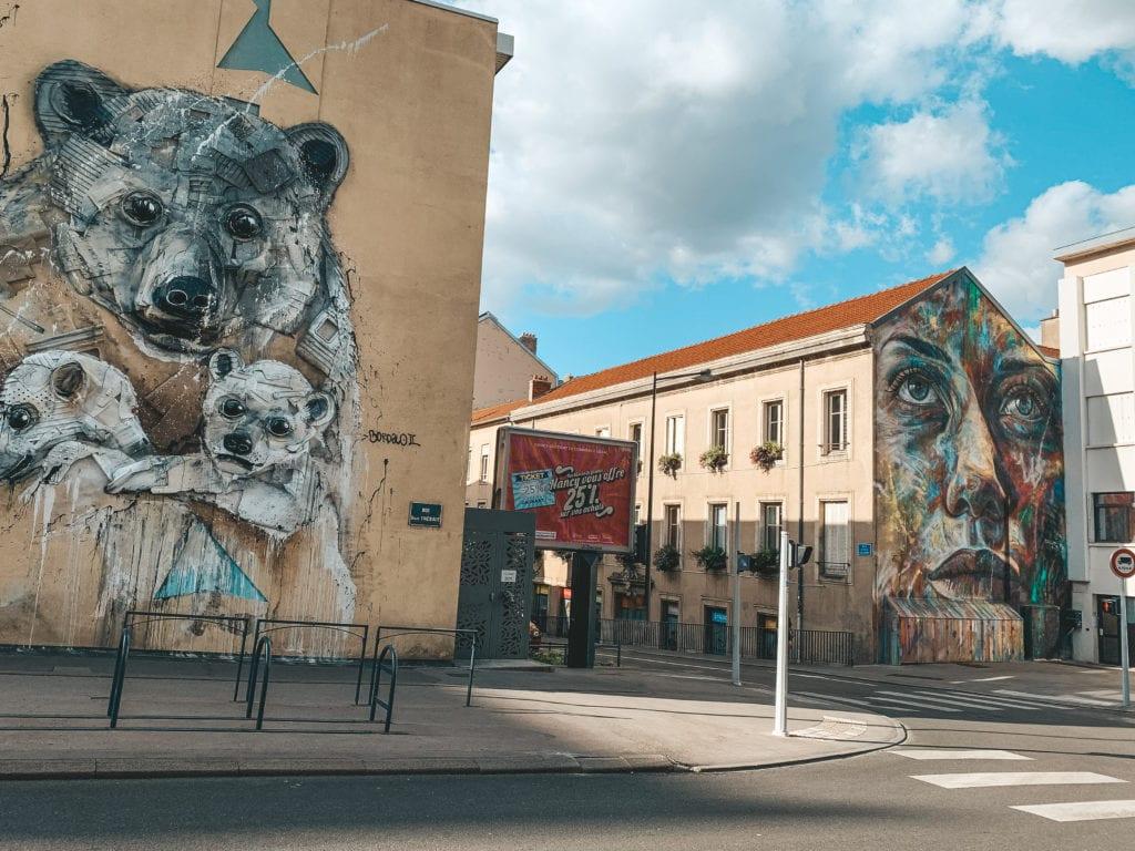 Street art Nancy.